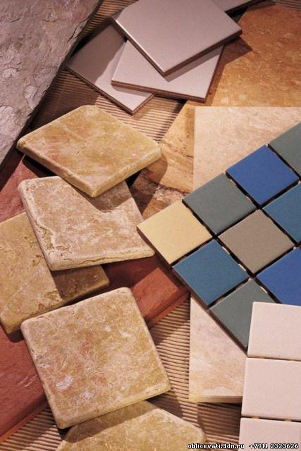 Кафель. Плитка керамическая. Разные виды и типы